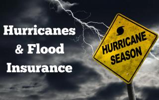 Flood insurance & hurricanes